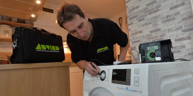 Auvico repariert Waschmaschinen